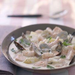 Scandiliocious Bergen Fish Chowder