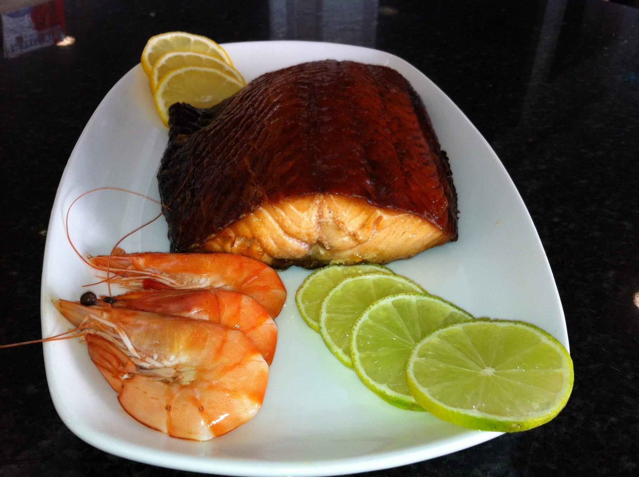 Roast Smoked Salmon Latimers Seafood Deli Cafe