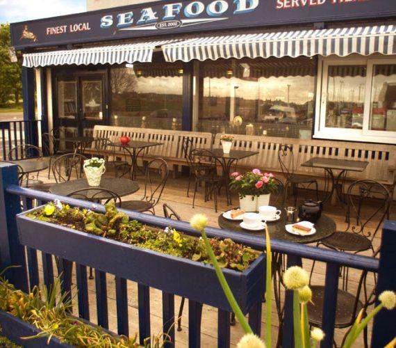 Latimers Seafood deck