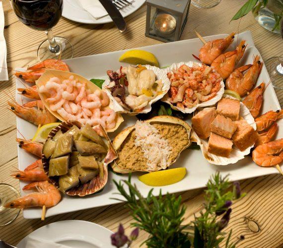 Sharing Seafood Platter Winter