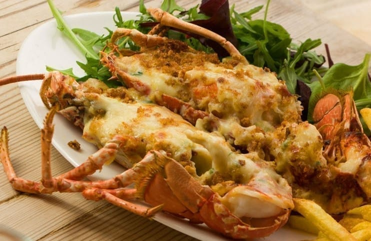 Lobster Thermidor Latimers Seafood Deli Cafe